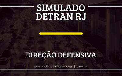 Simulado Detran RJ – Direção defensiva